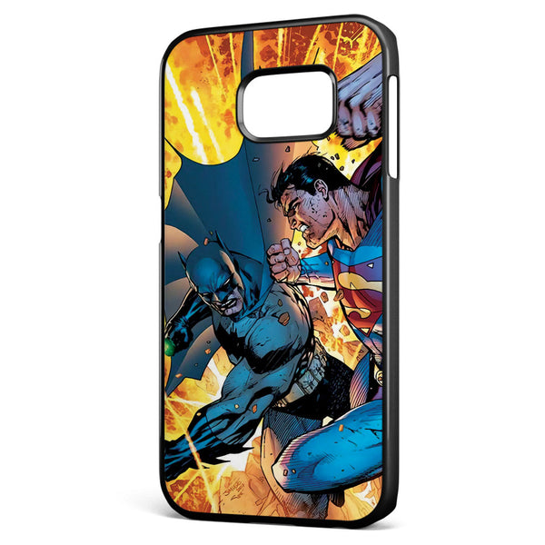 Superman Vs Batman Comic Samsung Galaxy S6 Edge Case Cover ISVA033