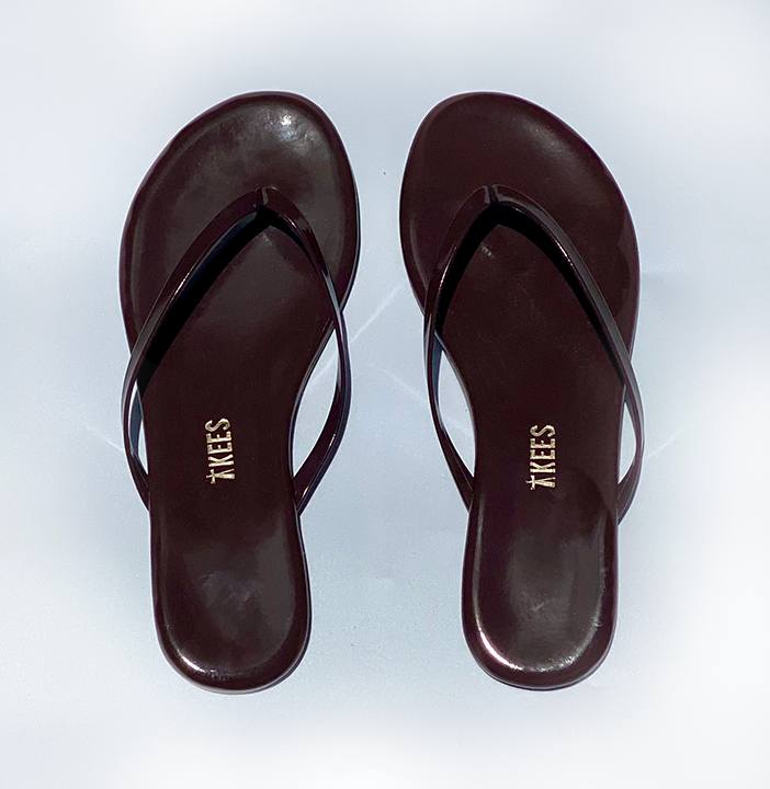 FLIP FLOPS DARK BROWN