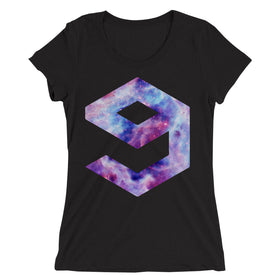9-Gag-Galaxy-Logo-Parodi-Women'S-T-Shirt