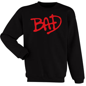 Bad Michael Jackson Logo Men'S Sweatshirt