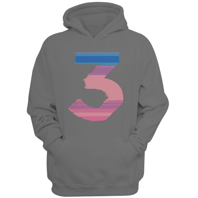 Chance The Rapper 3 Logo Mens Hoodie Blueskytee