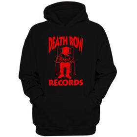 Death Row Records Red Logo Women'S Hoodie