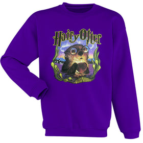 Hairy Otter Harry Potter Parody Men'S Sweatshirt