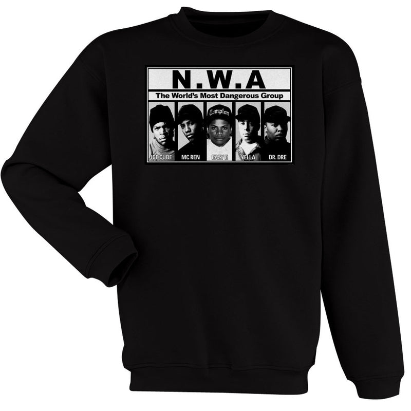 hip hop rap nwa dr dre eazy e dj yella mc ren women s sweatshirt
