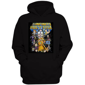 Rick And Morty Infinity War Women'S Hoodie