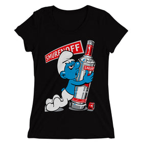 Smurfnoff-Funny-Cool-Swag-Drunk-Women'S-T-Shirt