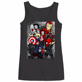 Steve Rogers Vs The World Marvel Women Tank Top