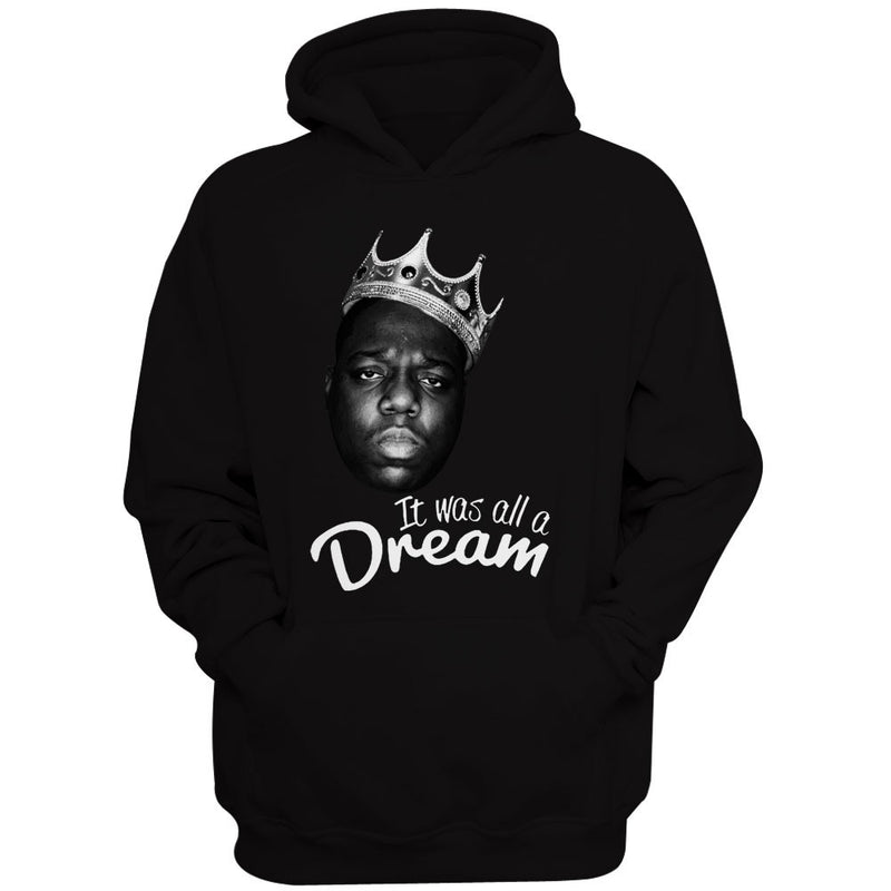 The Notorious Big Biggie Smalls It Was All A Dream WomenS Hoodie