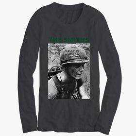 The Smiths Meat Is Murder Morrissey Men'S Long Sleeve
