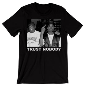 Tupac Trust Nobody Men'S T Shirt