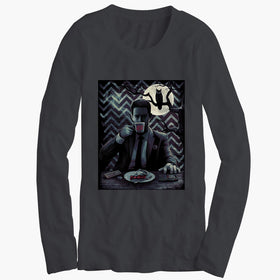 Twin Peaks Art Dale Cooper Womens Long Sleeve