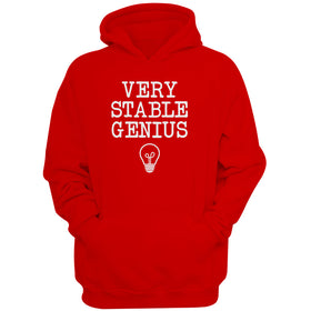 Very Stable Genius Funny Trump Women'S Hoodie
