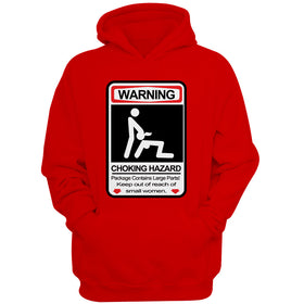 Warning Choking Hazard Men'S Hoodie