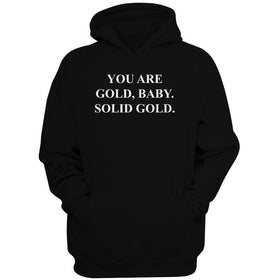 You Are Gold Baby Solid Gold Men'S Hoodie