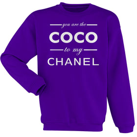 You Are The Coco To My Channel Women'S Sweatshirt