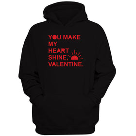 You Make My Heart Shine Sunshine Valentine Men'S Hoodie