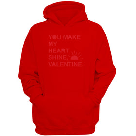 You Make My Heart Shine Sunshine Valentine Women'S Hoodie