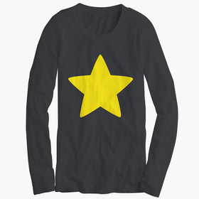 Young Greg Universe Steven Universe Star Womens Long Sleeve