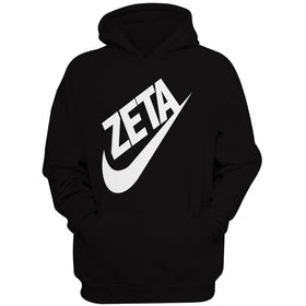 Zeta Phi Beta Sorority 1920 Swoosh Vert Men'S Hoodie