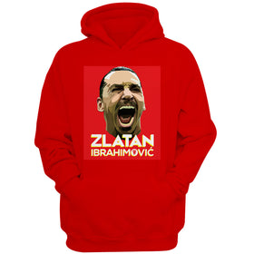 Zlatan Ibrahimovic Face Art Men'S Hoodie