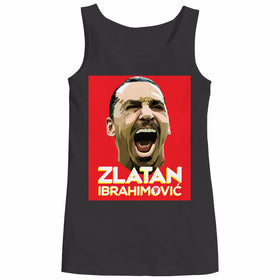 Zlatan Ibrahimovic Face Art Women Tank Top