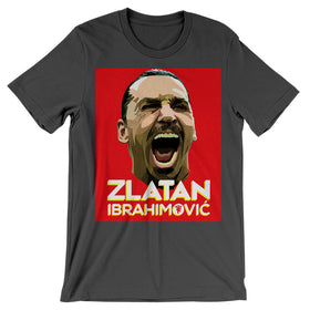 Zlatan Ibrahimovic Face Art Men'S T Shirt