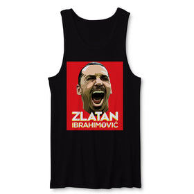 Zlatan Ibrahimovic Face Art Men'S Tank Top