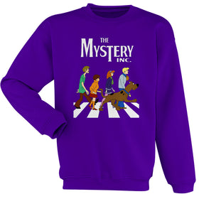 Scooby Doo Abey Road Women'S Sweatshirt