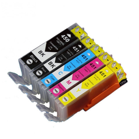 NEW Compatible CANON PGI 450 / CLI 451 Inkjet Cartridges