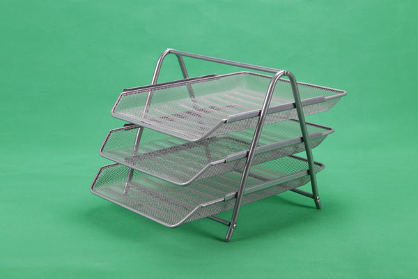 3 Tier Mesh Letter Tray