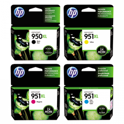 HP 950XL / 951XL Inkjet Cartridges