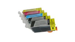 NEW Compatible Canon PGI 520 / CLI 521 Inkjet Cartridges