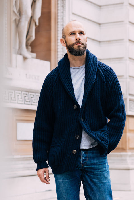 The Indulgent Shawl-Collar Cardigan