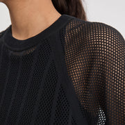 FILIPPA K Cotton Mesh Knit Top