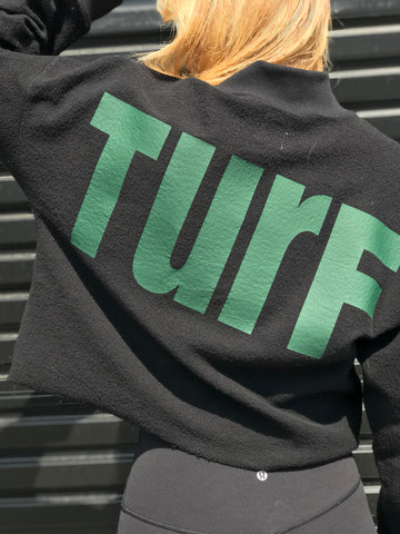 TURF Mock Neck Sweatshirt