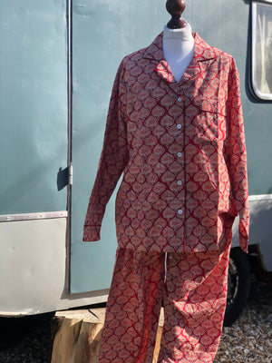 Block printed pyjama sets