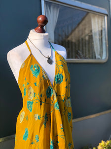 Vintage sari dress- short length
