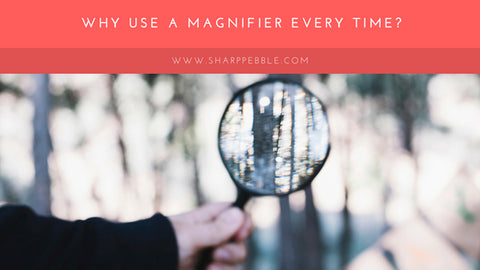 Sharp Pebble Why A Magnifier Will Give Your Knife A  Perfect Edge Every Time?