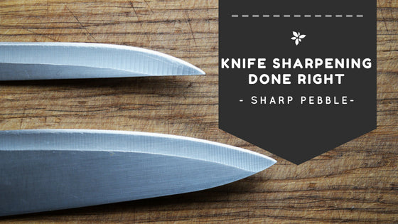 Sharp Pebble Knife Sharpening Done Right