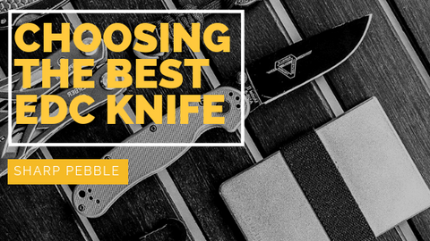 Choosing the Best EDC Knife: Serrated or Plain Edge  By Sharp Pebble
