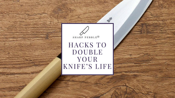 Sharp Pebble Hacks To Double Your Knife's Life