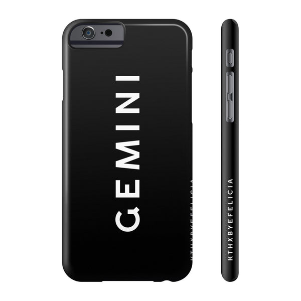 Gemini Slim iPhone Case