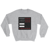 Human Rights Unisex Crewneck Sweater