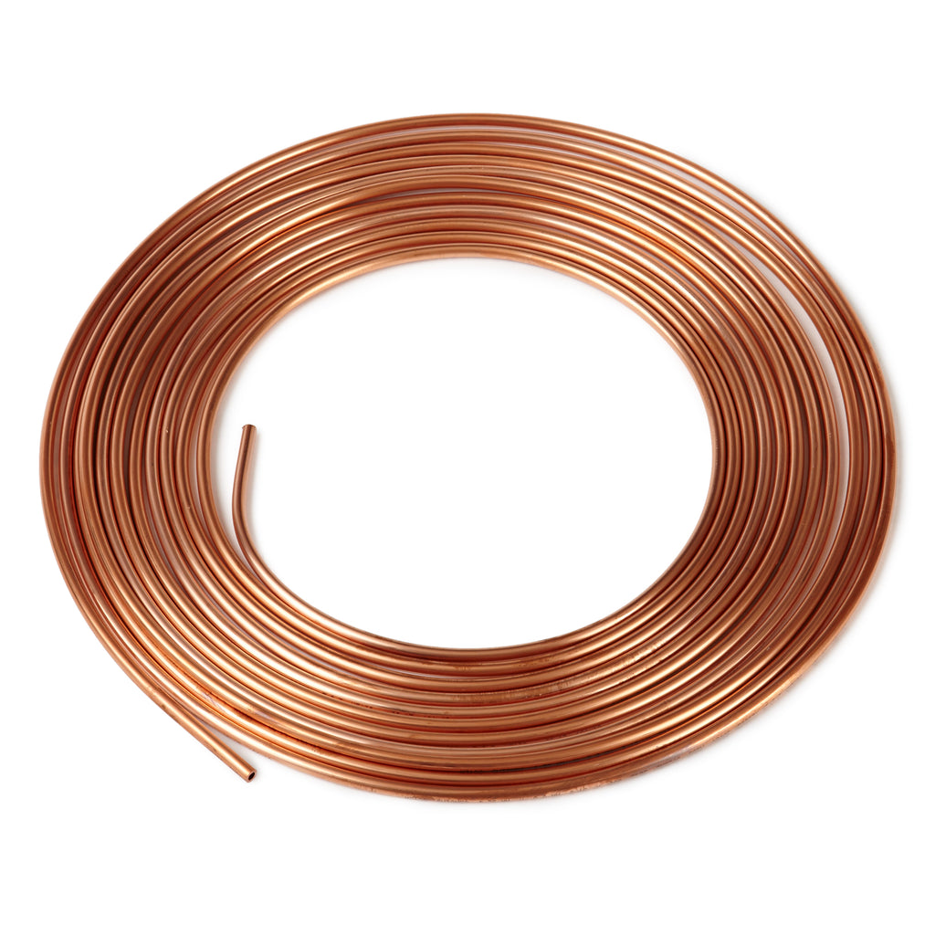 Brake Pipe Coil Copper (Metric) 25ft
