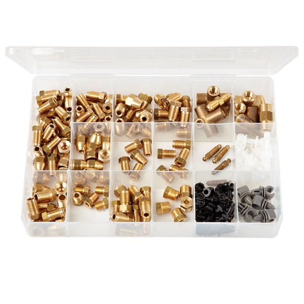 Brass Union & Clip Assortments