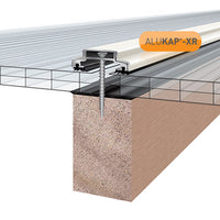 Alukap-XR Professional Rafter Supported roof glazing