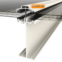 Alukap-SS High Span self supporting canopy system