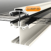 Alukap-SS Low Profile self supporting canopy system