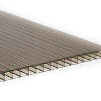 10mm Twin Wall Polycarbonate - Bronze
