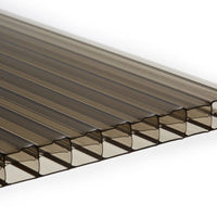 16mm Triple Wall Polycarbonate - Bronze